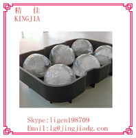 2015 most popular whisky sphere ice molds,silicone ice ball mold, reusable ice sculpture molds