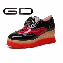 New arrival women high heel shoe platform heel women casual fashion shoe