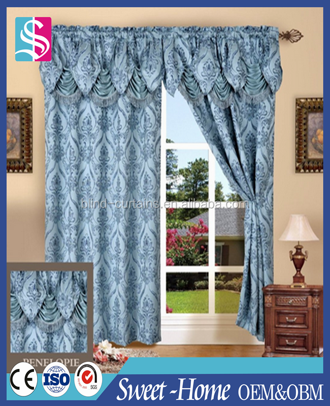 Luxury Embroidered Tulle Royal Curtain