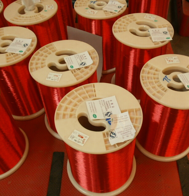 Enameled copper wires for flat ribbon cable0.66MM
