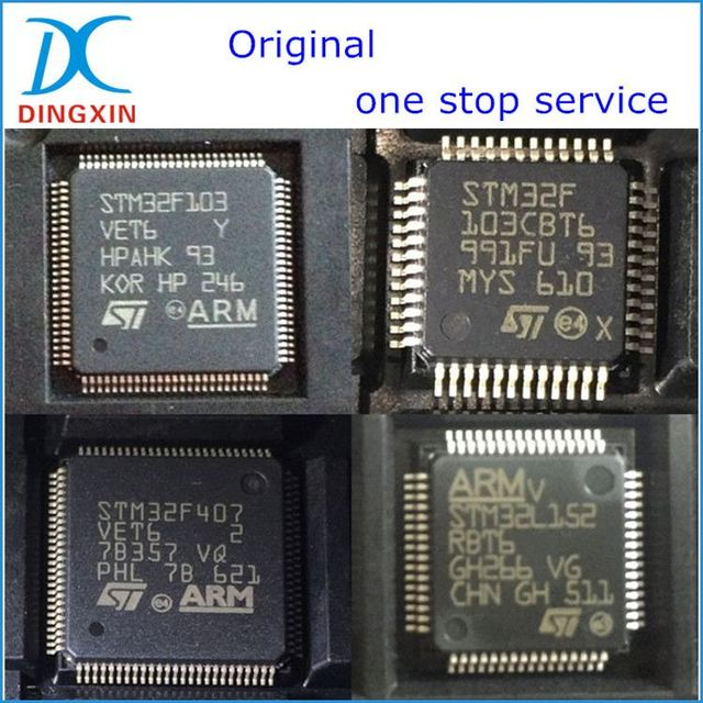 original integrated circuit st stm32f407zet6
