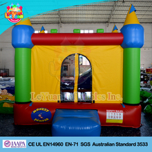 Inflatable bounce castle/ inflatable bouncer moonwalk for kids