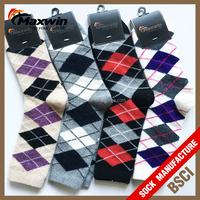 Sports Cotton 100% Merino Wool Sock,women's winter thick knee high long socks