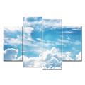 Modern Canvas Wall Art Blue Sky and White Cloud Modern Canvas Painting Prints For Wall Decor Wholesale
