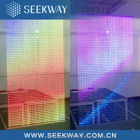 RGB full color Seekway Transparent LED display screen
