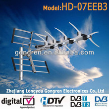 high gain high quality hd dvb-t dvb-t2 antenna outdoor tv antena HD-07EEB3