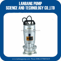 Small Water Pump 100% Copper Wire & Output Power Specification Of Submersible Water Pump 1HP Small Water Pump With Protector