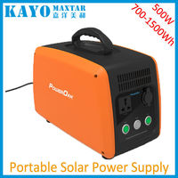 500W Portable Power Station Rechargeable Lithium