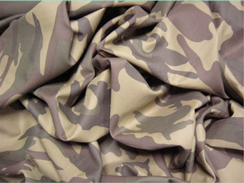 100% cotton or 100% polyester or T/C camouflage printed fabric for army uniform and tent