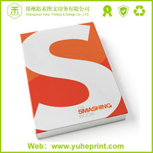 Direct factory cheap price 157gsm coated paper perfect binding China trade paperback bound books