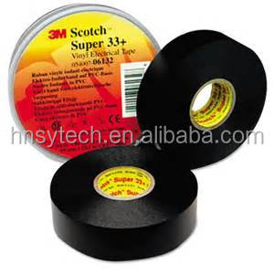 Single Sided 3M Super 33+ PVC Electrical Insulation Tape
