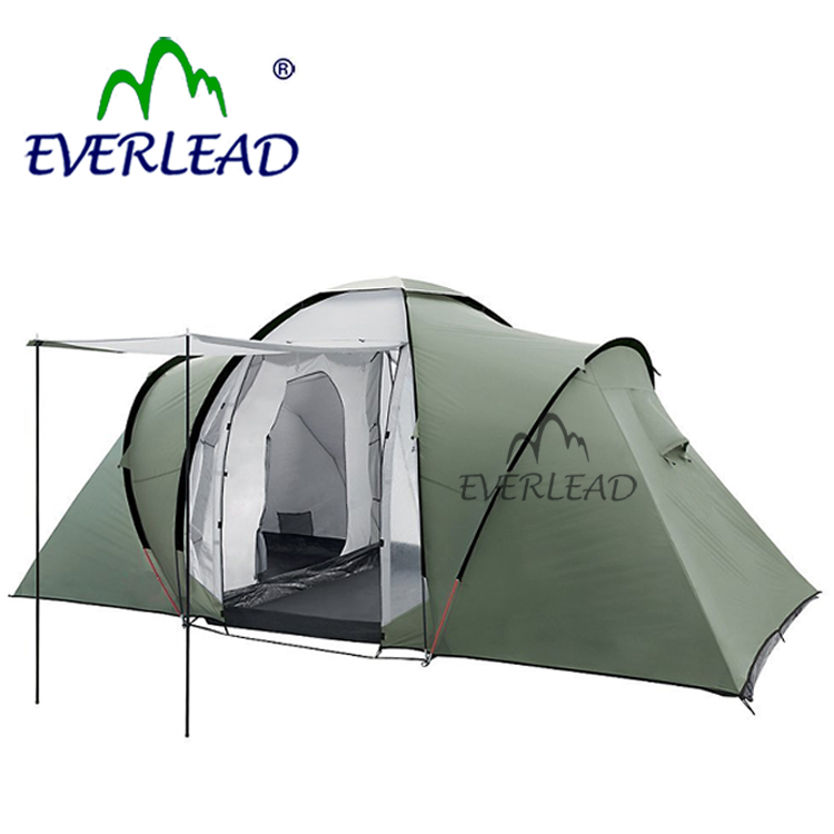 Outdoor Luxury Family 4 Person Camping Tent For Sale