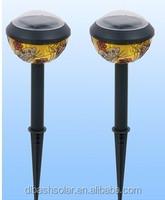 CE ROHS plastic low price solar garden lamp