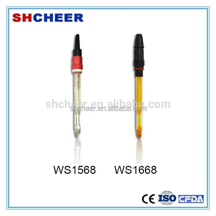 Industrial water quality ph glass electrode with LCD Disply