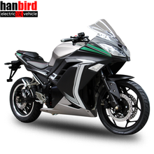 Hanbird 3000W 5000W Electric Motorcycle with 72V Lithium Battery for Sale in USA