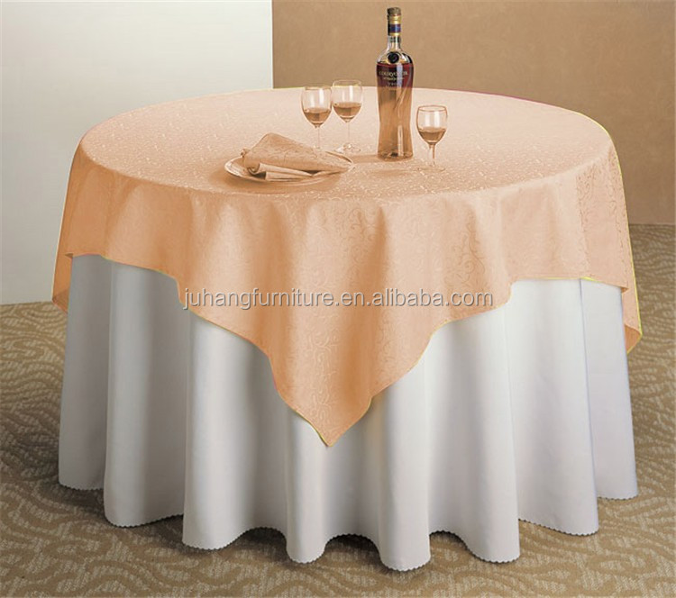 Polyester heat resistant dining table protective covers for wedding buy dining table - Heat resistant table cloth ...