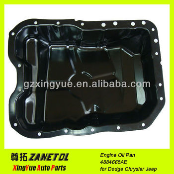 4884665ae auto engine oil pan for dodge journey caliber. Black Bedroom Furniture Sets. Home Design Ideas