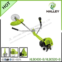 43cc anti vibration brush cutter with alloy blade HLBC430-B
