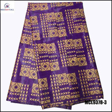 MCL9378-3 Guangzhou Cheap Guinea Brocade Shadda Wholesale Embroidered African fabric Bazin riche lace cloth