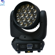 New products pro light Aura 19x15w Rgbw Zoom Led Moving Head Light