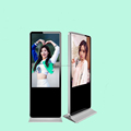 "Floor stand 49"" inch LCD screen Android monitor for digital AD signage display"