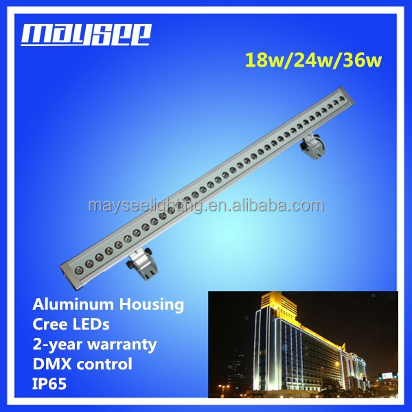 customized led mini wall washer with DMX control