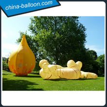 2015 Hot sale giant inflatable garlic and ginger model for advertising