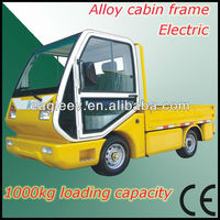 Chinese model mini truck for park , 1000kgs loading capacity, CE approved