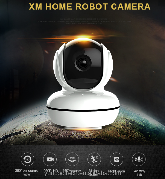 2MP <strong>1080P</strong> WiFi camera, mini <strong>1080P</strong> PTZ wifi camera