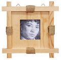 competitive price solid pine wood square picture frame