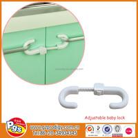 Display Cabinet Sliding Glass Door Lock+ Key