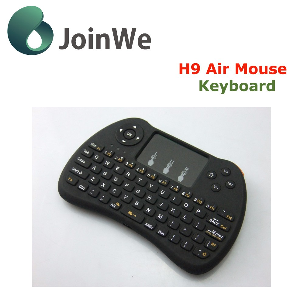 High Quality rechargeable Air fly Mouse And Mini Wireless Keyboard 2.4ghz Remote Control