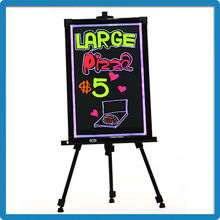 new innovative products 2015 acrylic li-battery inside advertising sign boards