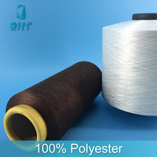 Unique design 100D/36F 100% polyester spun rayon yarn for weaving
