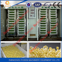 Factory price automatic mung bean sprout machine/bean sprout processing machine
