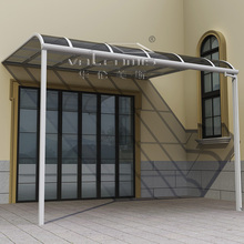 balcony stainless steel railing design lowes polycarbonate panels roofing sheet awning supports