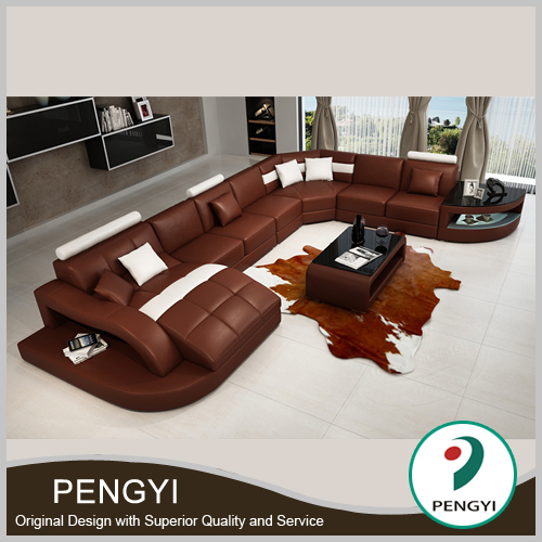 New Arrival Sofa Design, Modern Corner Sofa Furniture PY-2217