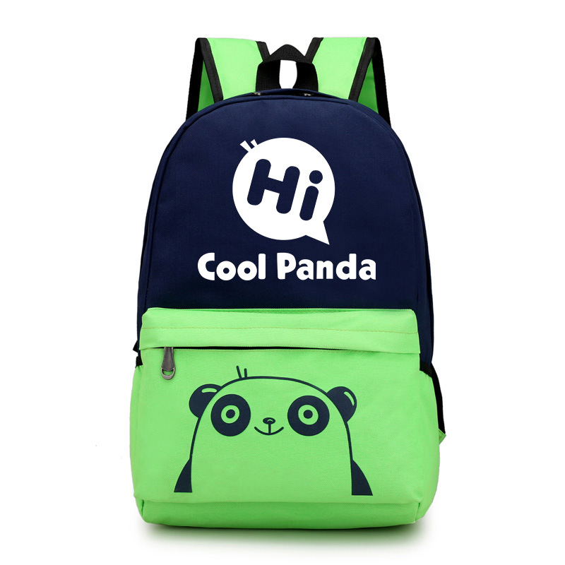 OEM animal school backpack man women children school bag funny school bag