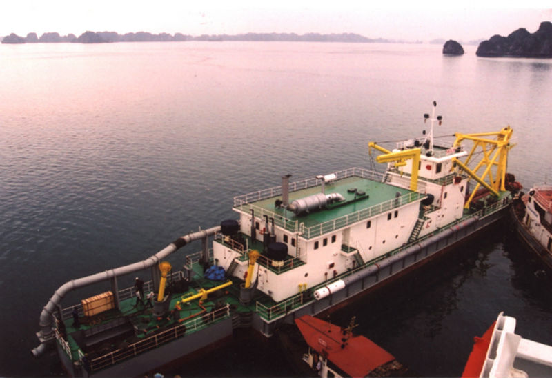 THE 1500 CUM / HR CUTTER SUCTION DREDGER