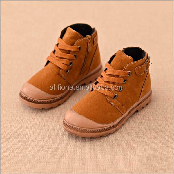 F10128E Autumn winter korean style children shoes martin boys boots wholesale