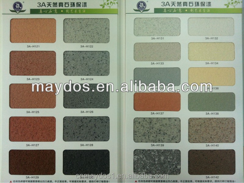 Special effect home wall decor granite stone paint