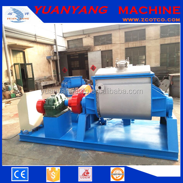 Oil paint Double Z Blade Sigma Mixer/ 500L Hydraulic tilt Sigma kneader machine