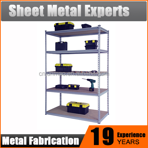Walmart 5 Shelf Metal Storage Rack /Book Rack
