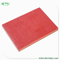 2015 good quality WPC wood plastic composite board for furniture /pvc plate