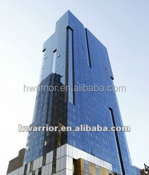 Aluminum Frame Glass Curtain Wall