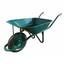 Construction Tools French model wheelbarrow WB6400 with pneumatic wheel