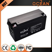 Top selling factory supply extraordinary 12V 150ah solar panel battery