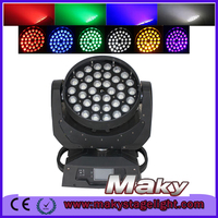 New Design Products! 36pcs x 10w RGBW 4in1 LED Zoom Wash Moving Head