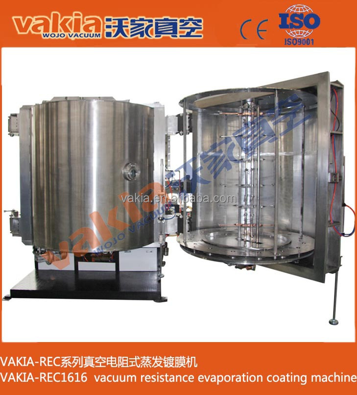 vacuum coating machine plastic tools aluminum plating/magnetron sputtering vacuum coating machine