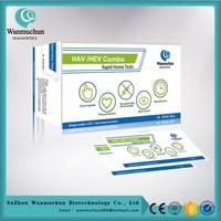 Medical diagnostic medical hev igm rapid test FDA cleared CE mark